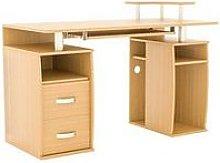 Vida Designs Otley 2 Drawer Computer Desk - Pine