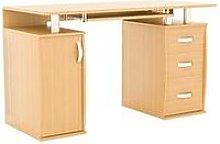 Vida Designs Otley 3 Drawer Computer Desk - Pine