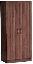 Vida Designs Riano 2 Door Wardrobe - Walnut Effect