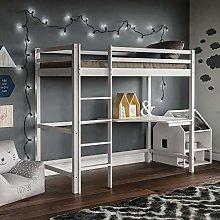 Vida Designs Sydney High Sleeper Bunk Bed, Solid