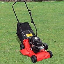 vidaXL 2.3 HP 4-in-1 Petrol Lawn Mower