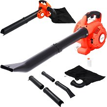 vidaXL 3-in-1 Petrol Leaf Blower 26 cc Orange