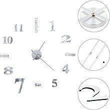 vidaXL 3D Wall Clock Modern Design 100 cm XXL