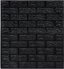 vidaXL 3D Wallpaper Bricks Self-adhesive 40 pcs