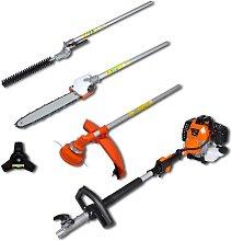 vidaXL 4-in-1 Multi-tool Hedge&Grass Trimmer,