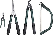 vidaXL 4 Piece Garden Pruning Tool Set
