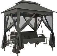 vidaXL 45073  Outdoor Swing Chair with Canopy
