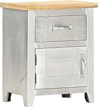 vidaXL Aviator Bedside Cabinet 40x30x50 cm Solid
