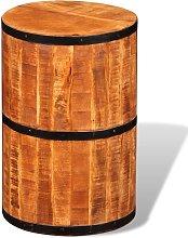 vidaXL Bar Stool Rough Mango Wood