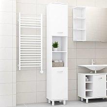 vidaXL Bathroom Cabinet White 30x30x179 cm