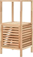 vidaXL Bathroom Storage Cabinet Solid Walnut Wood