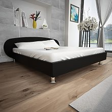 vidaXL Bed Frame 4FT6 Double/135x190 cm Artificial