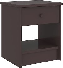 vidaXL Bedside Cabinet Dark Brown 35x30x40 cm