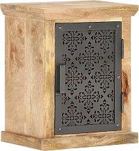 vidaXL Bedside Cabinet with Door 40x30x50 cm Solid