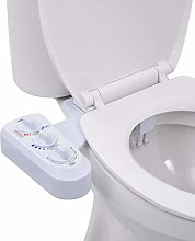 vidaXL Bidet Toilet Seat Attachment Self-Cleaning
