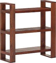 vidaXL Book Cabinet Honey Brown 84x30x90 cm Solid
