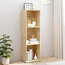 vidaXL Book Cabinet/TV Cabinet Sonoma Oak