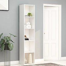 vidaXL Book Cabinet White 40x30x189 cm Chipboard