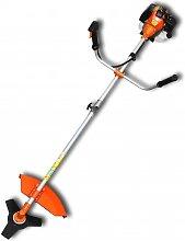 vidaXL Brush Cutter Grass Trimmer 25:1 Orange 2,2