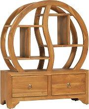vidaXL Cabinet with Yin Yang Shelf 68x26x83 cm