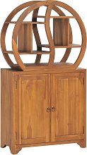 vidaXL Cabinet with Yin Yang Shelf 70x30x130 cm