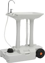 vidaXL Camping Hand Wash Stand with Dispenser 35 L