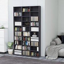 vidaXL CD Cabinet Grey 102x23x177.5 cm Chipboard
