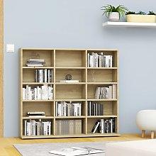 vidaXL CD Cabinet Sonoma Oak 102x23x89.5 cm