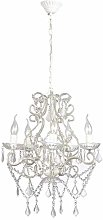 vidaXL Chandelier with 2800 Crystals E14 Ceiling