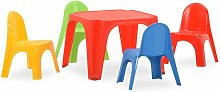 vidaXL Children's Table and Chair Set PP -