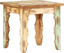 vidaXL Coffee Table 40x40x40 cm Solid Reclaimed