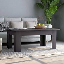 vidaXL Coffee Table Grey 100x60x42 cm Chipboard