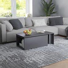 vidaXL Coffee Table Grey 150x50x35 cm Chipboard