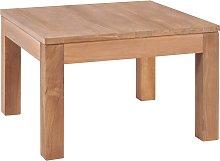 vidaXL Coffee Table Solid Teak Wood with Natural