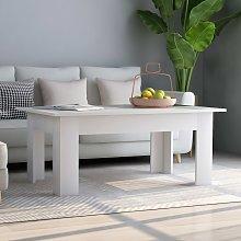 vidaXL Coffee Table White 100x60x42 cm Chipboard