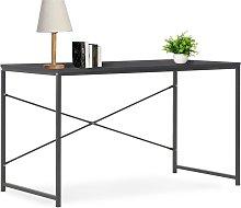 vidaXL Computer Desk Black 120x60x70 cm