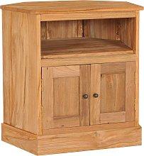 vidaXL Corner Sideboard 60x45x60 cm Solid Teak Wood