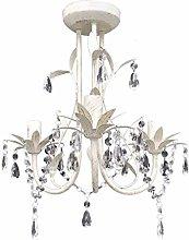vidaXL Crystal Pendant Ceiling Lamp Chandelier