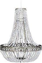 vidaXL Crystal Pendant Chandelier 36.5x46cm