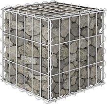 vidaXL Cube Gabion Raised Bed Steel Wire 30x30x30