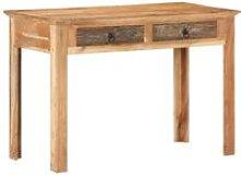 Vidaxl - Desk 110x50x75 cm Solid Reclaimed Wood