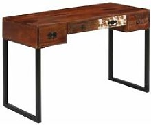 Vidaxl - Desk 117x50x76 cm Solid Sheesham Wood and