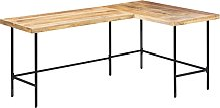vidaXL Desk 180x120x76 cm Solid Mango Wood