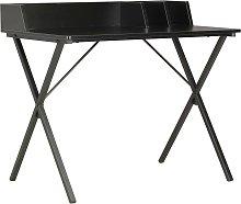 vidaXL Desk Black 80x50x84 cm
