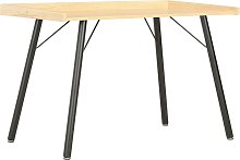 vidaXL Desk Oak 90x50x79 cm
