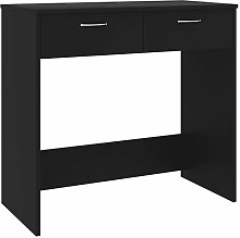 vidaXL Desk with Drawers Easy to Clean Living Room