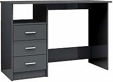 vidaXL Desk with Drawers Office Desks Workstations