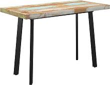 vidaXL Dining Table with V-shaped Legs 120x60x77
