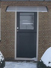 vidaXL Door Canopy 120x100 cm