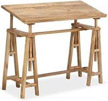 Vidaxl - Drafting Table Solid Mango Wood 116x50x76
